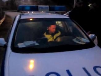 полиция, нощ