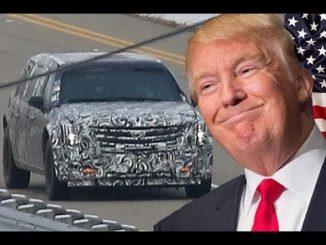 Автомобилът на Тръмп