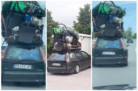 Пернишка кола се прослави по пътищата на Италия - ВИДЕО